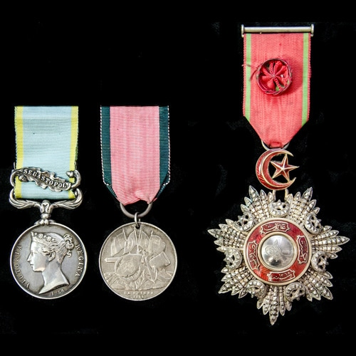 London Medal Company - ​The very fine Crimean War Siege of S...