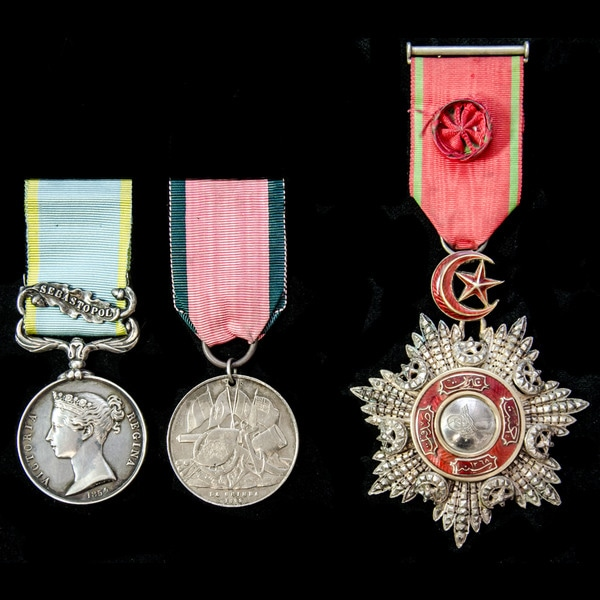 London Medal Company The very fine Crimean War Si.