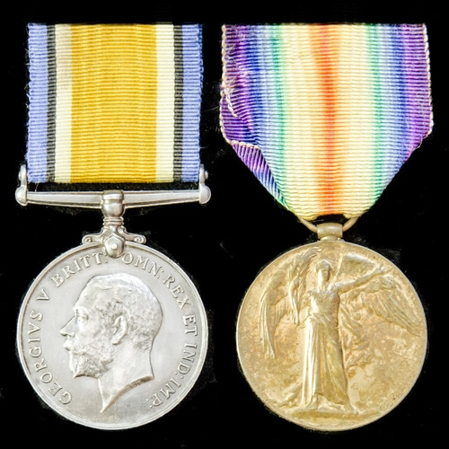 London Medal Company - ​A Great War pair awarded to Sapper s...