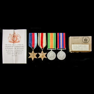 London Medal Company - A Second World War Middle East Opera...