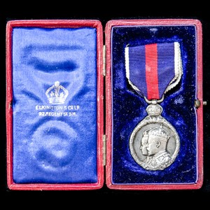 London Medal Company - ​A Coronation Medal 1902 in Silver, h...