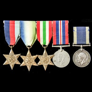 London Medal Company - A Second World War and long service ...
