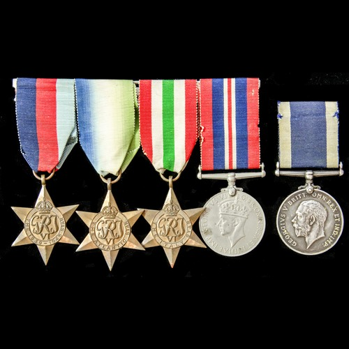 London Medal Company - ​A Second World War and long service ...
