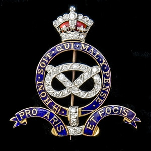 London Medal Company - A stunning Staffordshire Yeomanry Edw...