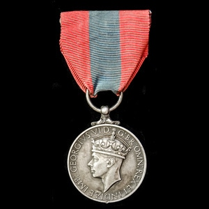London Medal Company - An Imperial Service Medal, GVI 1st ty...