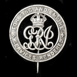 London Medal Company - A Silver War Badge, reverse numbered...