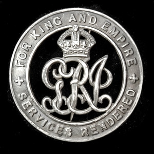London Medal Company - A Silver War Badge, reverse numbered:...
