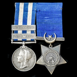 London Medal Company - An Egypt 1882 and Gordon Relief Exped...