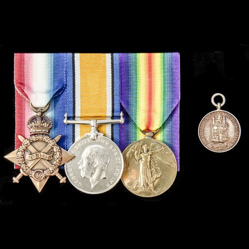 London Medal Company - ​A Great War Naval Armoured Car Servi...