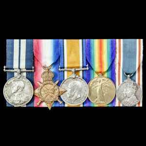 London Medal Company - The very fine Great War Battle of Jut...