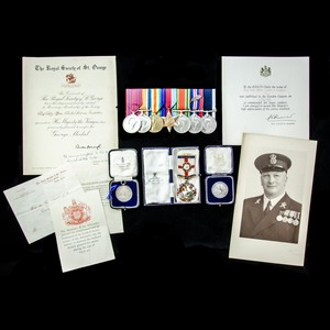 London Medal Company - The exceptional Second World War Nava...