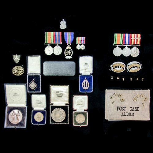 London Medal Company - ​A Second World War family group, bel...