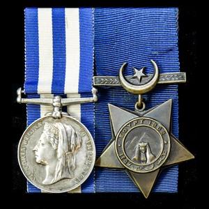 London Medal Company - An interesting Egyptian War 1882 pair...