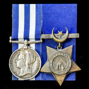 London Medal Company - An Egyptian War 1882 pair awarded to ...