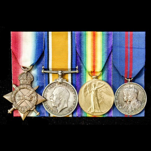 London Medal Company - ​A Great War and Coronation 1911 grou...
