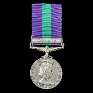 London Medal Company - A General Service Medal 1918-1962, EI...
