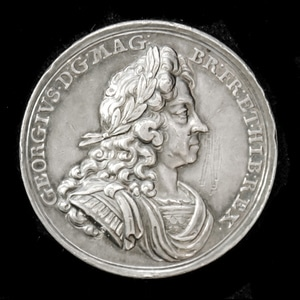 London Medal Company - ​King George 1st Coronation Medal 171...