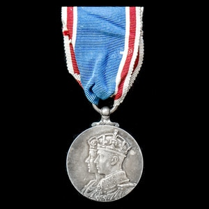 London Medal Company - ​Coronation Medal 1937, mounted on we...