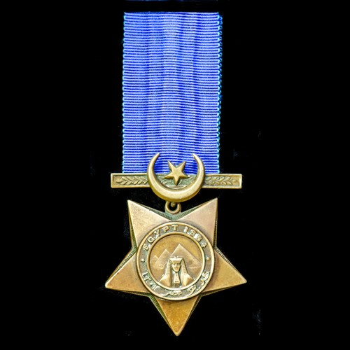 London Medal Company - ​Khedive's Star dated 1884.