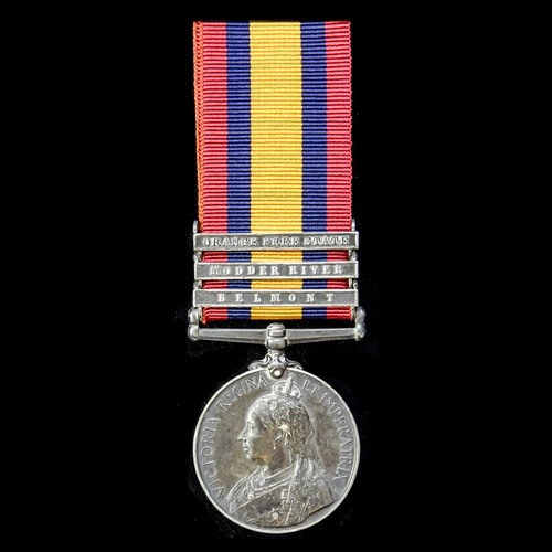 London Medal Company - ​A Queen's South Africa Medal 1899-19...