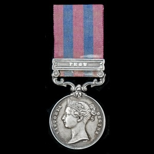 London Medal Company - ​The fine India General Service Medal...