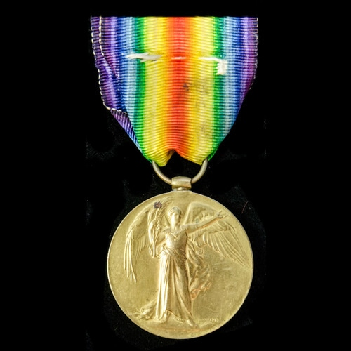 London Medal Company - ​A Victory Medal, awarded to Private ...