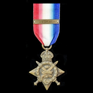 London Medal Company - A 1914 Star with copy Clasp, awarded...