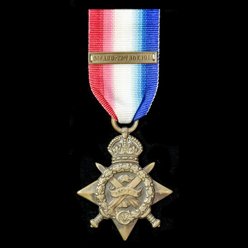 London Medal Company - ​A 1914 Star with copy Clasp, awarded...