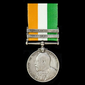London Medal Company - ​A King's South Africa Medal 1899-190...