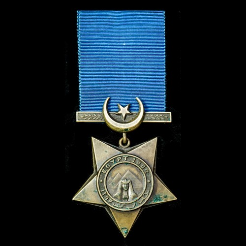 London Medal Company - Khedive's Star dated 1882, reverse en...