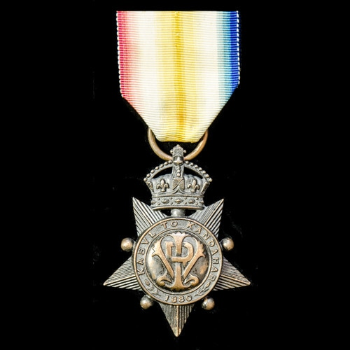 London Medal Company - ​A Kabul to Kandahar Star 1880, offic...