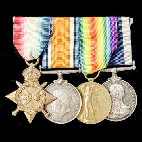 London Medal Company - ​A fine Great War Harwich Destroyer o...