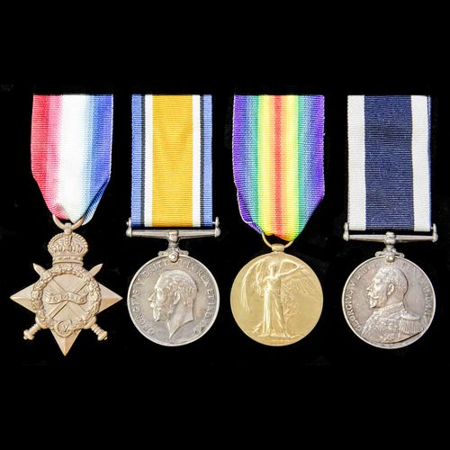 London Medal Company - ​A Great War long service group award...