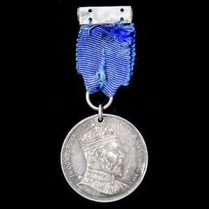 London Medal Company - Natal Coronation Medal 1902, 29 mm mi...