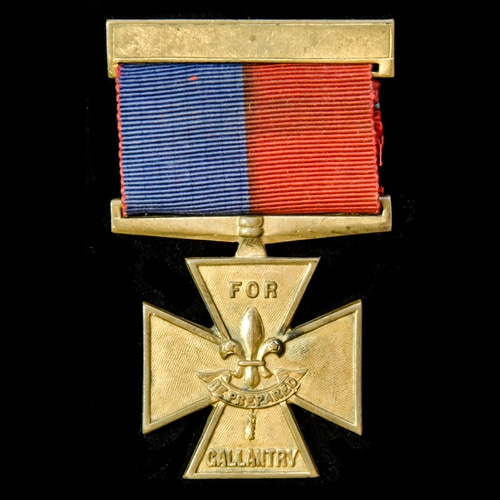 London Medal Company - ​A rare Scout Association Gallantry C...