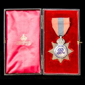 London Medal Company - A cased, Imperial Service Medal, GVR ...