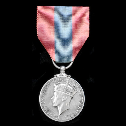 London Medal Company - ​An Imperial Service Medal, GVI 2nd t...