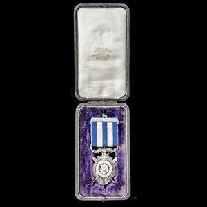 London Medal Company - A very fine cased Liverpool Shipwrec...