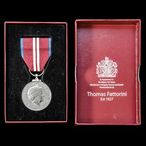 London Medal Company - ​Queen's Diamond Jubilee Medal 2012, ...
