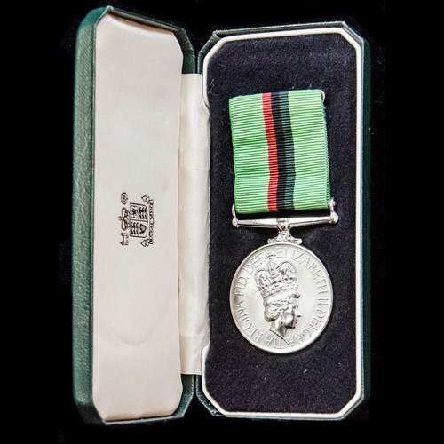 London Medal Company - A cased Royal Ulster Constabulary Ser...