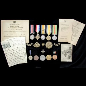 London Medal Company - The superb Great War Battle of the S...