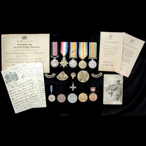 London Medal Company - ​The superb Great War Battle of the S...