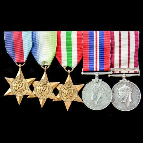 London Medal Company - A Second World War Atlantic and Medit...
