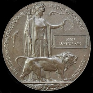 London Medal Company - A Great War Officer Casualty Memoria...