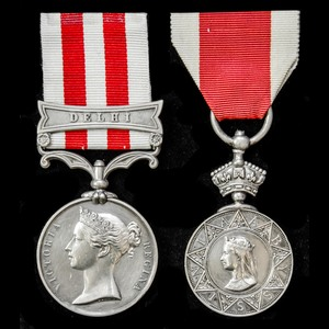 London Medal Company - ​The very fine Indian Mutiny Siege an...