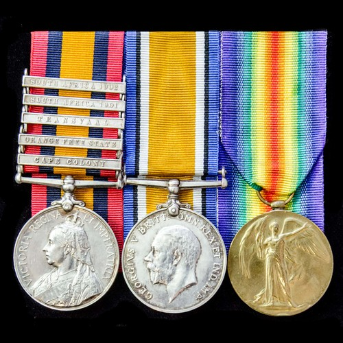 London Medal Company - ​A South Africa Boer War and Great Wa...
