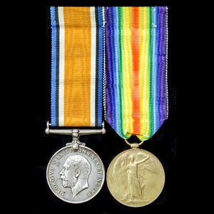London Medal Company - A Great War pair awarded to Private ...