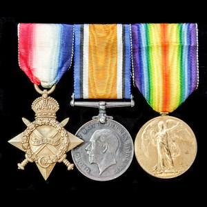 London Medal Company - A Great War Egypt 1914-1915 trio awa...
