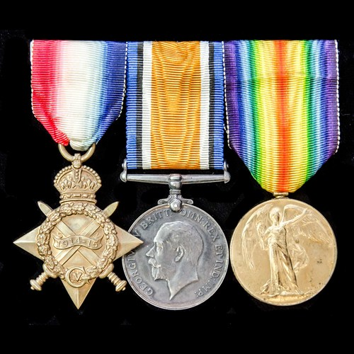 London Medal Company - ​A Great War Egypt 1914-1915 trio awa...