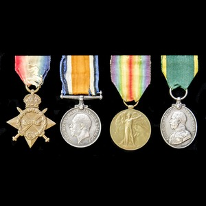 London Medal Company - ​A fine Great War Egypt and Palestine...